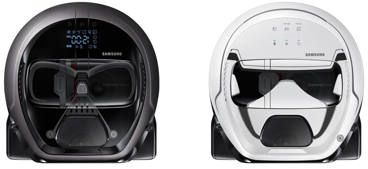 Darth Vader-robotdammsugare från Samsung