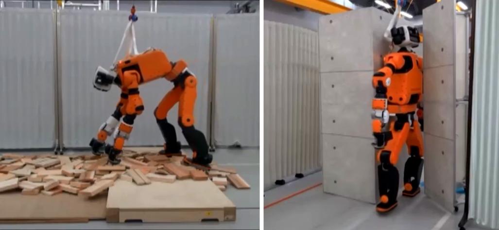 Hondas nya robot E2-DR ska hjälpa till vid katastrofer