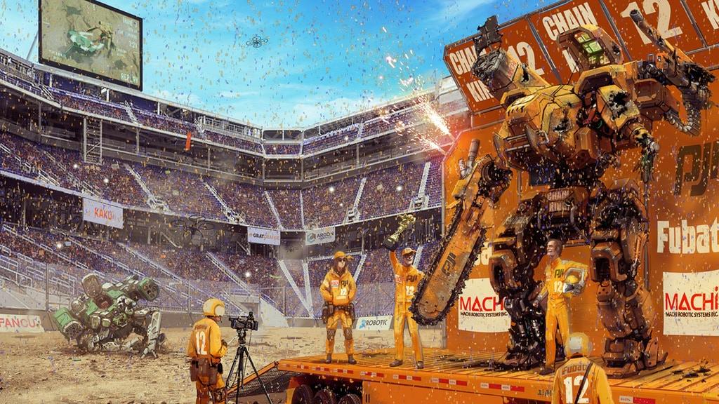 MegaBots startar crowdfunding för världens första jätterobotturnering