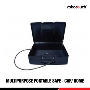 Robotouch New Electronic Locker For Car/Home/office with Anti Theft Steel Rope-0
