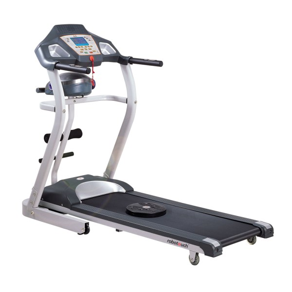 Robotouch RBT-09 4 In 1 Hydraulic Power Incline Foldable Motorized Treadmill With Tummy Massager & Twister - 2HP Motor-313