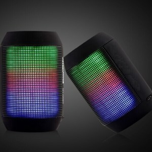 Robotouch Mini Portable Wireless Bluetooth Speaker With LED Light - Rechargeble - Easy To Carry-0