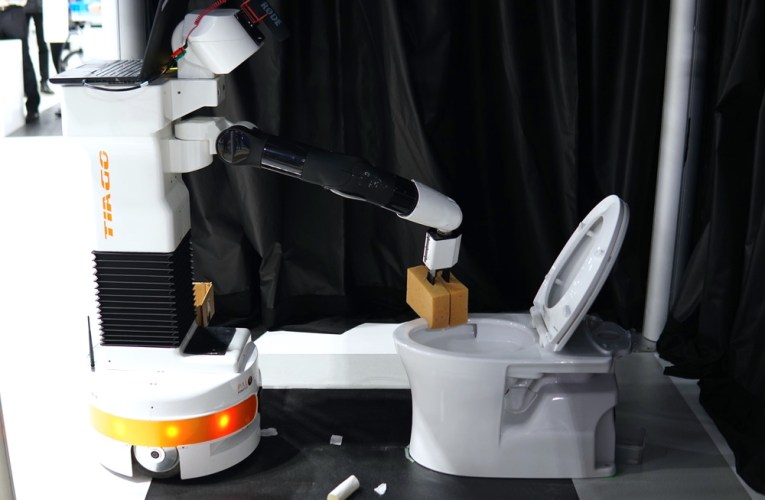 The Viability Of Toilet Cleaning Robots