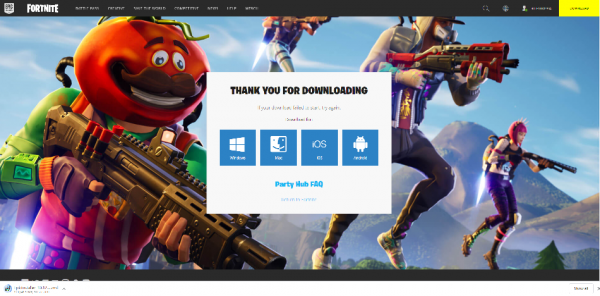 Get the Epic Games launcher