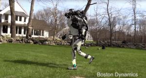 Boston Dynamics Humanoid Atlas Running