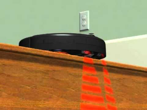 vacuum robot detects stairs