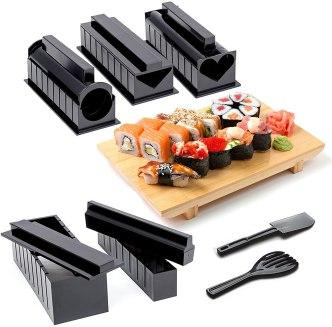 Oak Steel 11 Pièces Kit a Sushi Maki