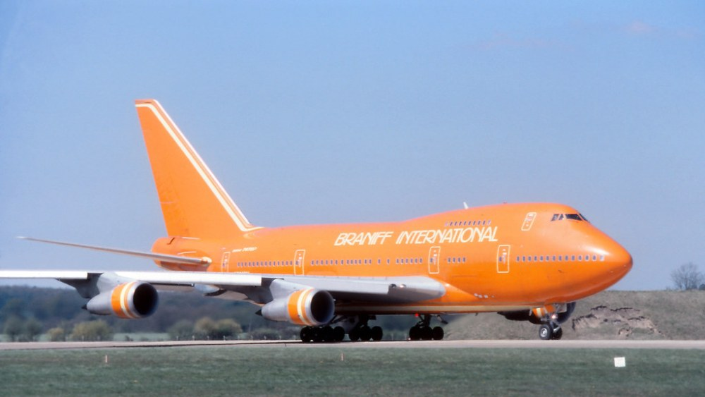 Flying Pumpkin - Boeing 747SP