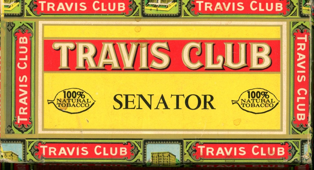 Travis Club Senators Box Side