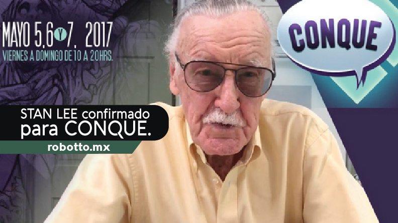 Stan Lee en CONQUE 2017.