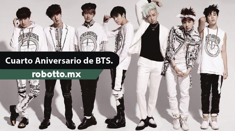 """""""BTS en su 4to Aniversario"""""""