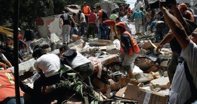 Sismo de 7.1 en Ciudad de México