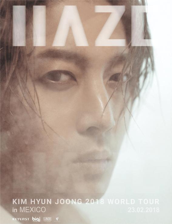 = Kim Hyun Joong en concierto HAZE =