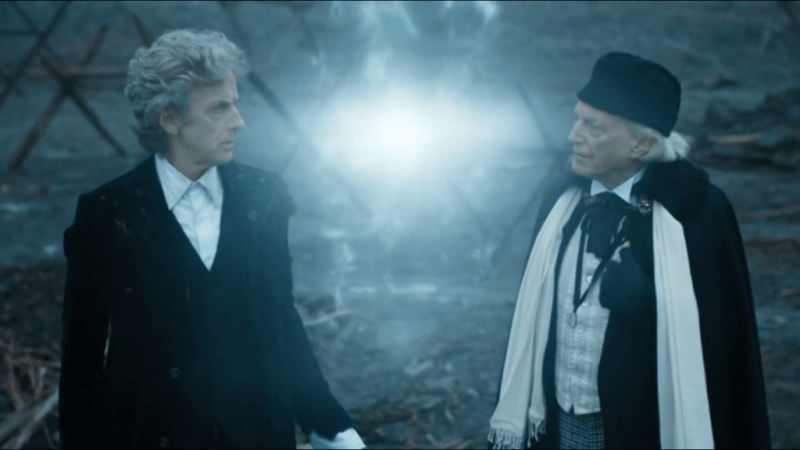 Peter Capaldi y David Bradley