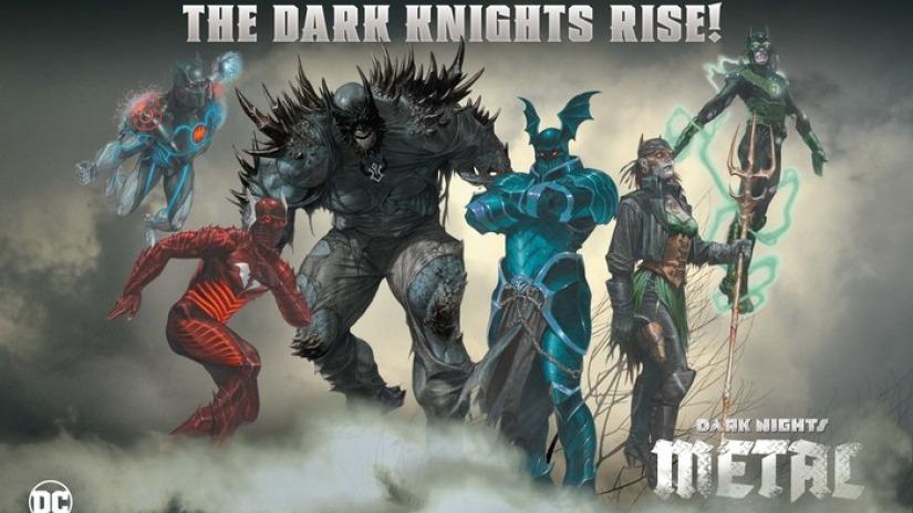 Batman Metal. Buscando el balance entre lo mítico y la fuerza