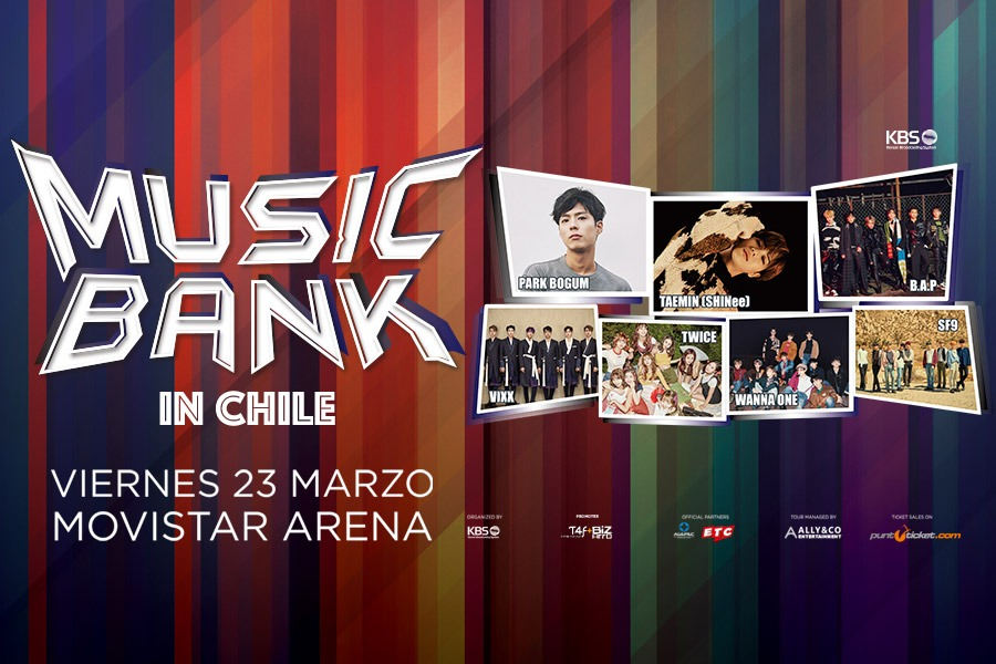 Music Bank in Chile (23 de Marzo)