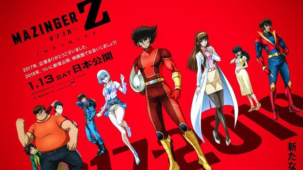 Mazinger Z: Infinity se Estrena el 05 de Abril en Formato 4D