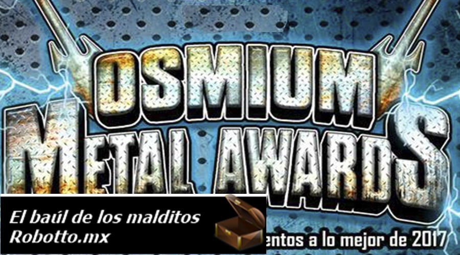 OSMIUM METAL AWARDS