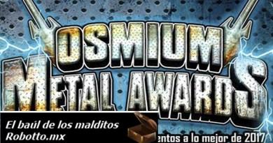 OSMIUM METAL AWARDS