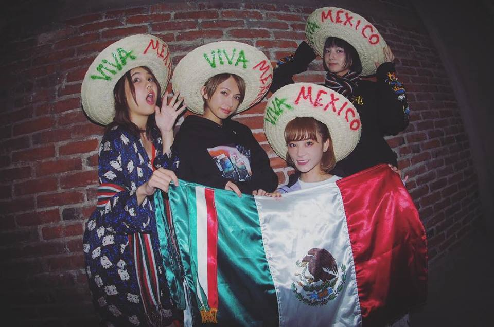 "Scandal El concierto ""JAPAN US & Mexico Tour 2018 Special Thanks"""