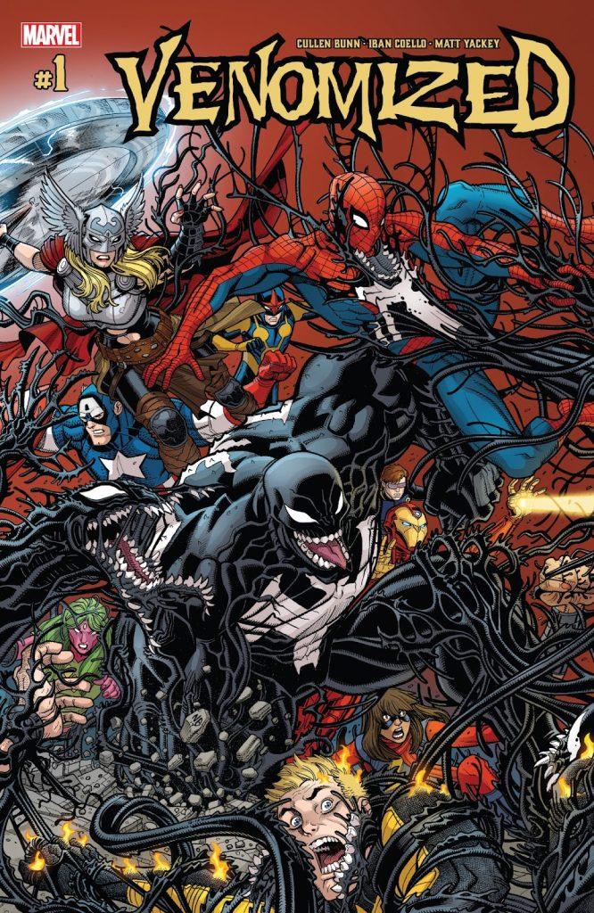 Venomized - La Guerra de Venom #LunesDeComics