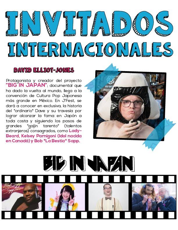 J'Fest 2019 Invitados Internacionales