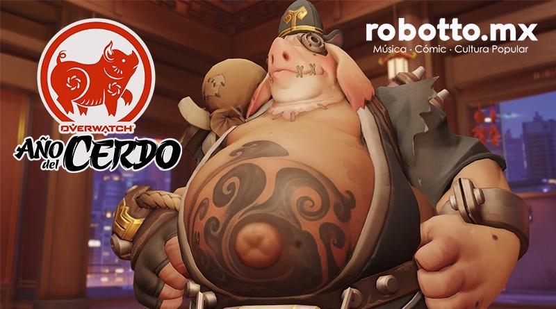 Overwatch confirma evento del Año Nuevo Lunar del Cerdo.