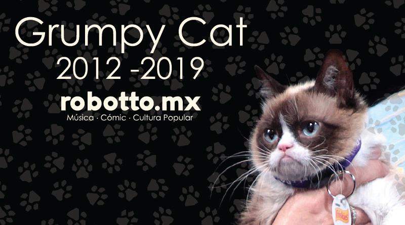 Obituario | Grumpy Cat muere a la edad de 7 años.