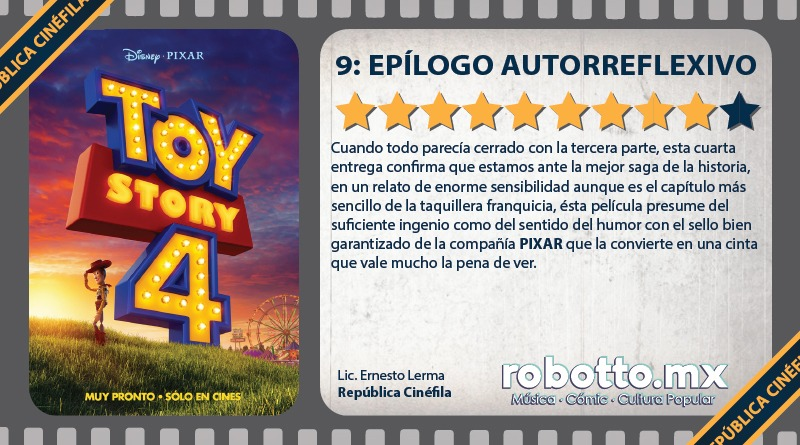 Reseña: Toy Story 4