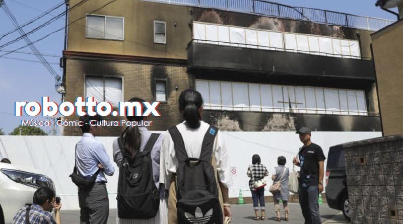 Policía libera los nombres de 25 víctimas del atentado en Kyoto Animation