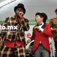 Triciclo Circus Band en el Zócalo de la CDMX