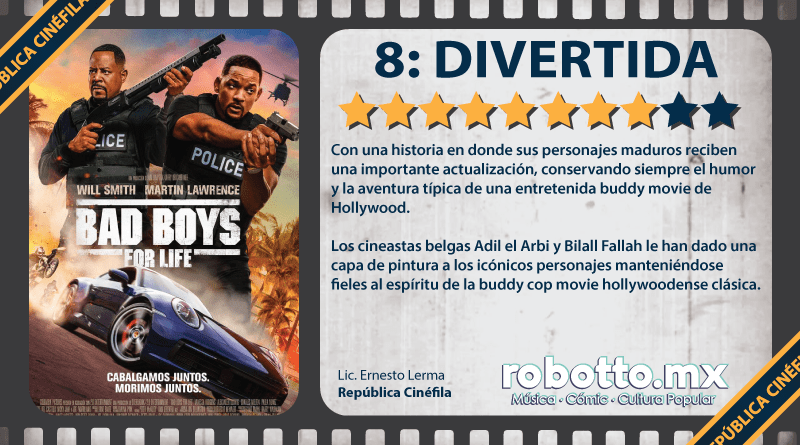 Reseña Bad Boys for Life