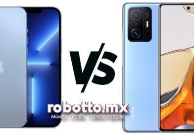 ¡Es hora de los trancazos! iPhone13 VS. Xiaomi 11T