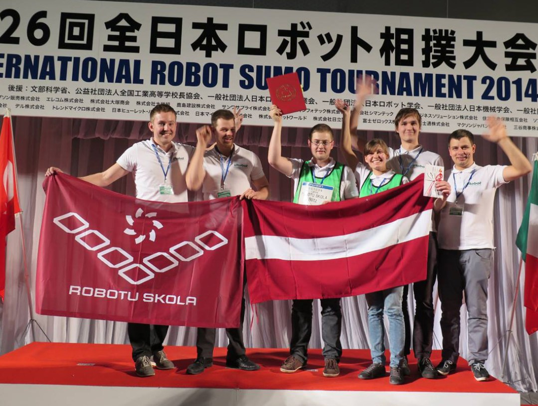 All Japan Robot Sumo Tournament uzvara 2014