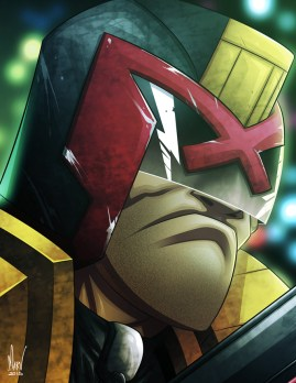 Judge Dredd by marvin