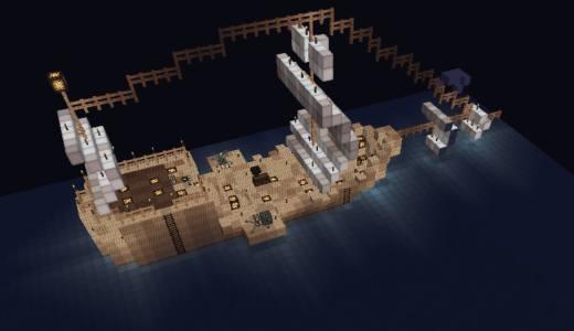 [Minecraft]マイクラで船を動かすならこれ! ships mod