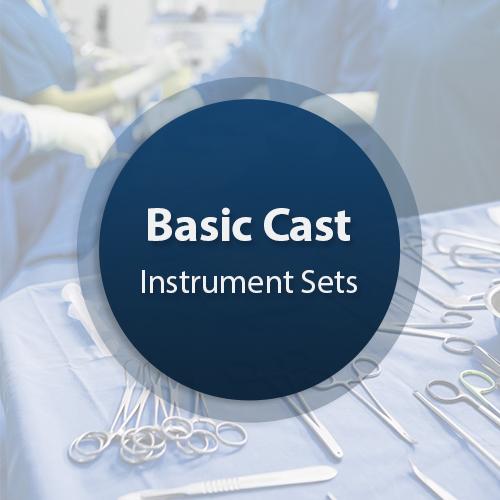 Cast Surgical Instrument Set - Basic 2