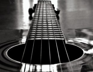Monochrome Guitar