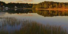 Wellfleet, Massachusetts In Autumn
