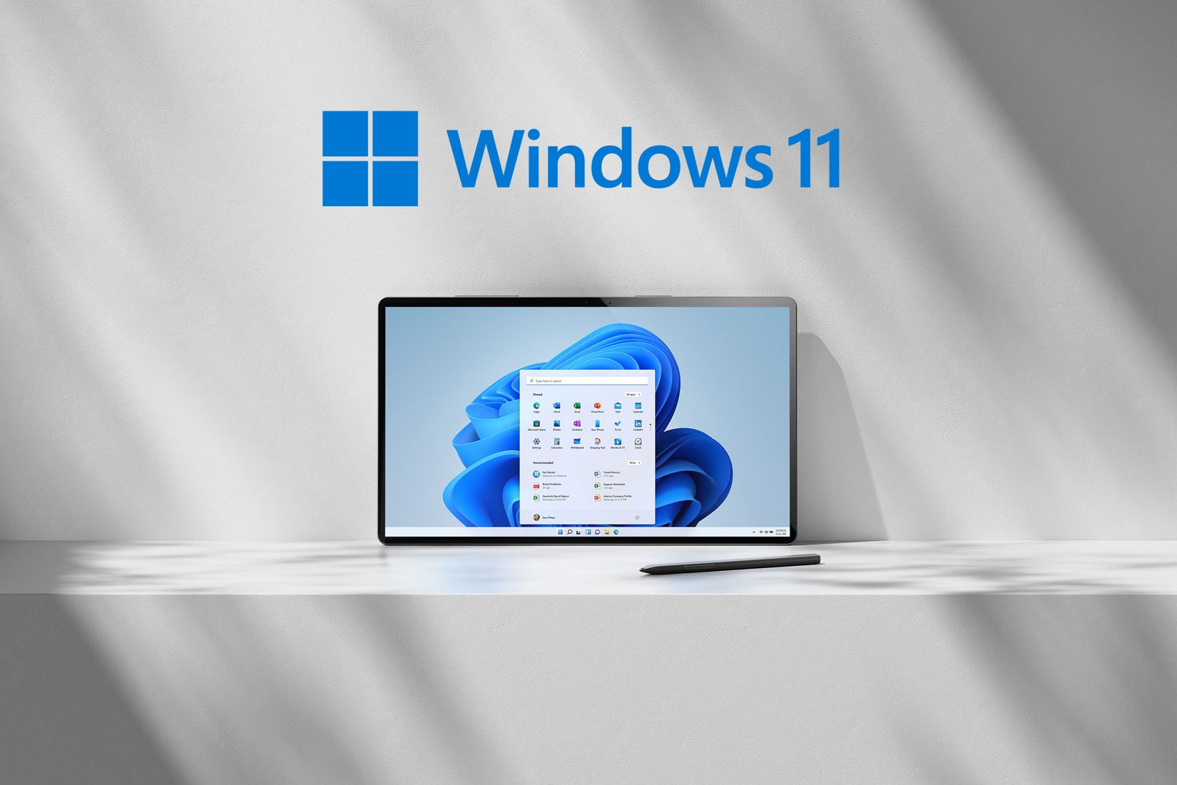 Windows11 Image on Laptop