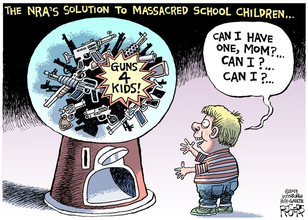 Rob Rogers Guns For Kids