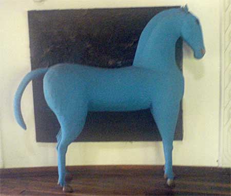 blue, horse, gigglingbob, rooker, nairobi, kenya