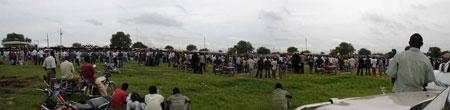 Panoramic of Garang Memorial