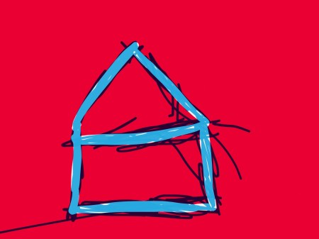 Blues house by Nyerdet - Medium: iPad, Paper by 53