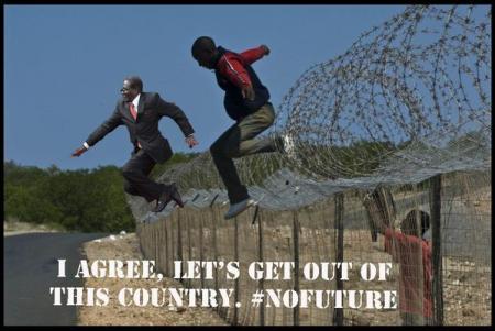 prisonmugabe #MugabeFalls