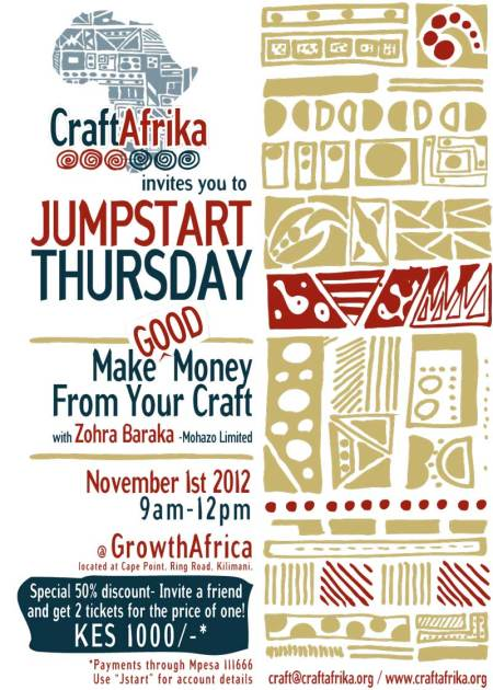 Jumpstart Thursday CraftAfrika