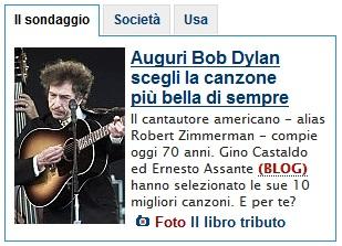 Bob Dylan la canzone più bella