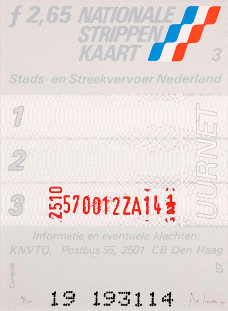 Rob Scholte – Strippenkaart