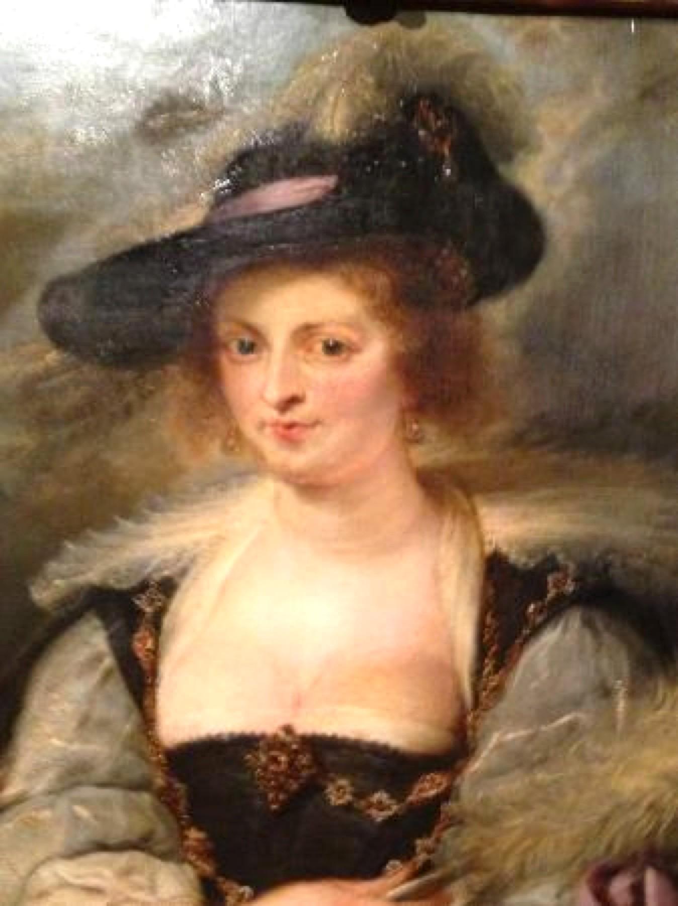 Peter Paul Rubens – Portrait of Hélène Fourmen (foto Gulbenkian Museum)