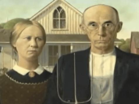 Grant Wood – American Gothic